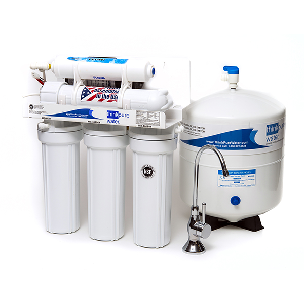 Kitchen Reverse Osmosis System Water Softener Whole