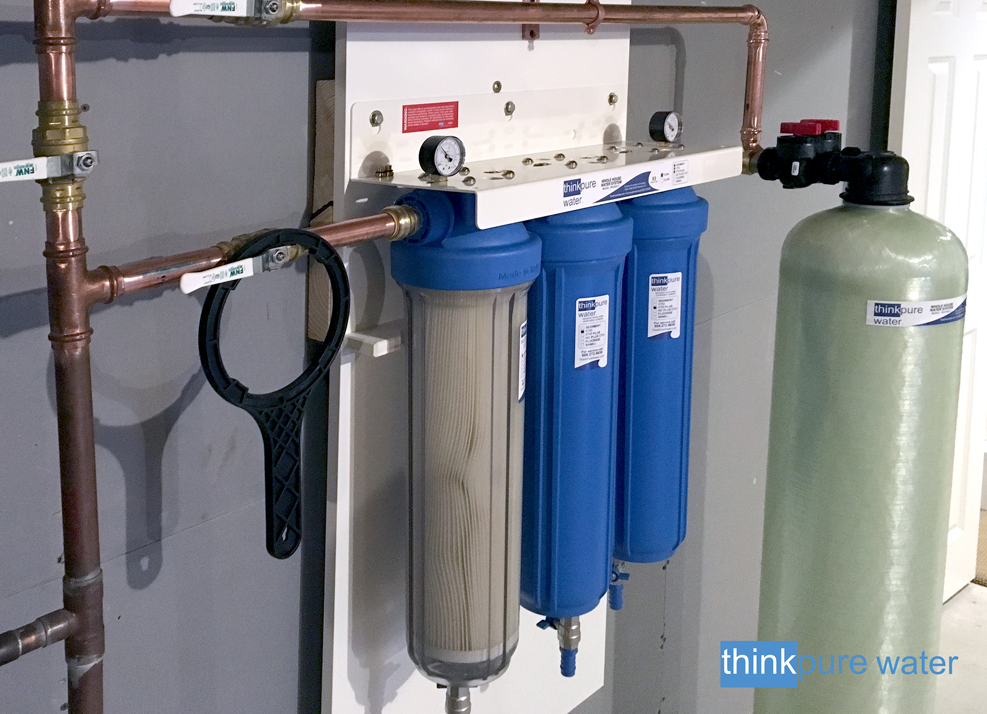 Recent Installations   Water Softener/Whole House Water Purification ...