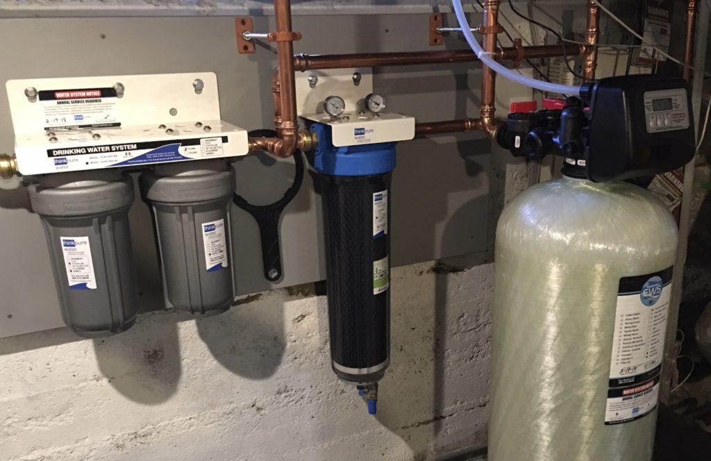Whole House Water Purification Softening Iron Manganese Radon